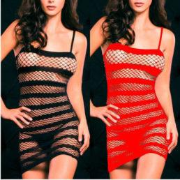 sexy-lingerie-fishnet-crotchless-con-apertura-sul-cavallo-vestito-bodystocking-fetish-nero-rosso-qa168